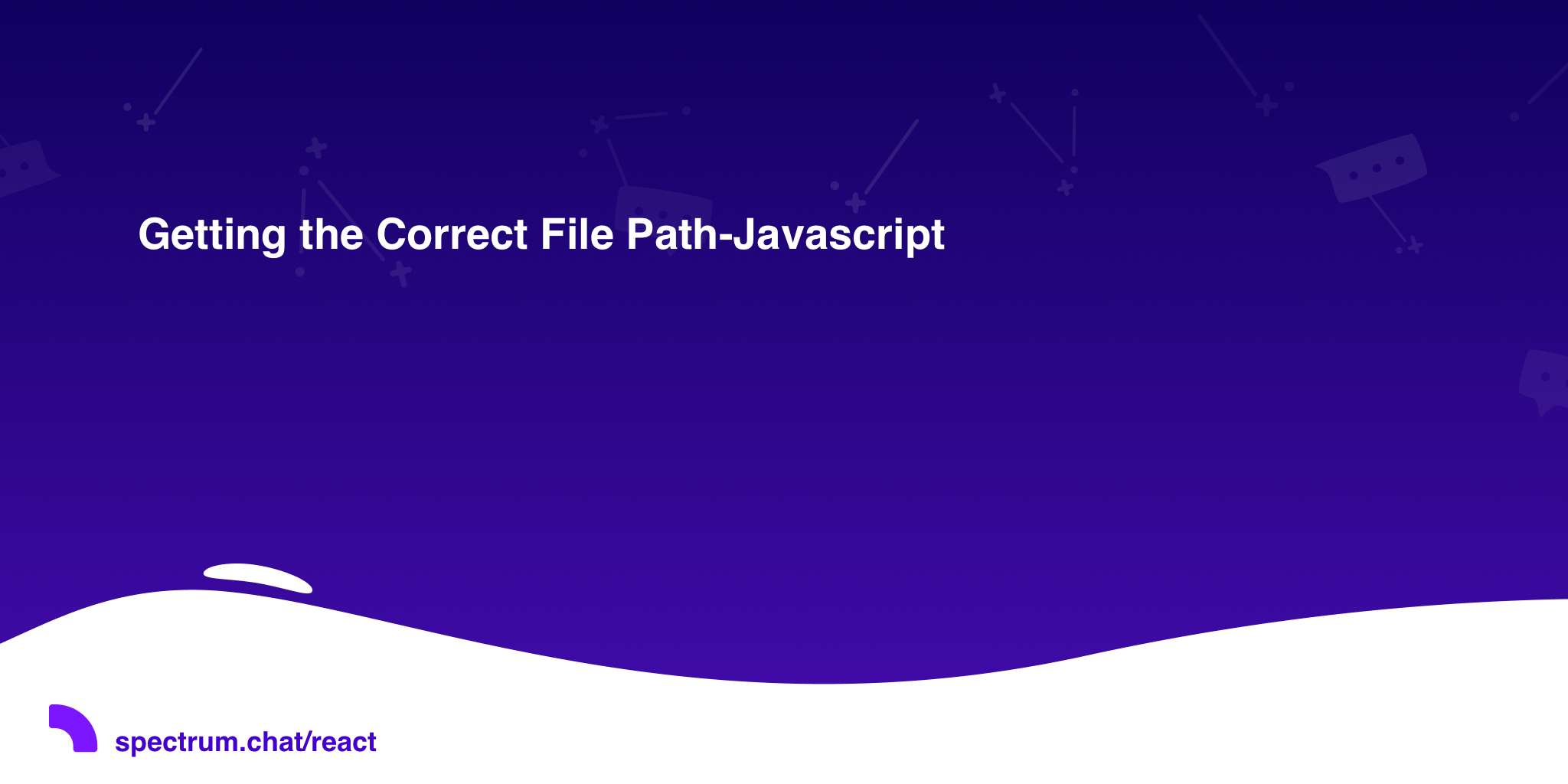 Getting the Correct File Path-Javascript · React