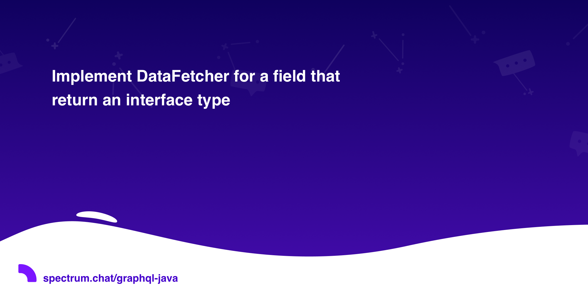 Implement DataFetcher for a field that return an interface type