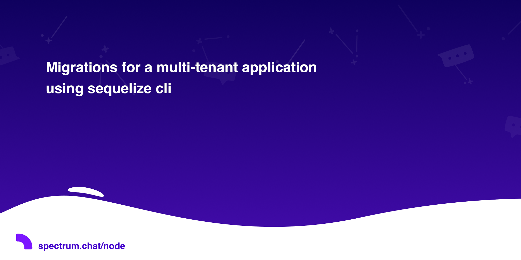 Migrations for a multi-tenant application using sequelize