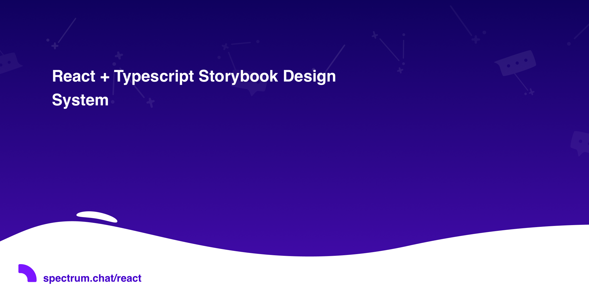 React + Typescript Storybook Design System · React