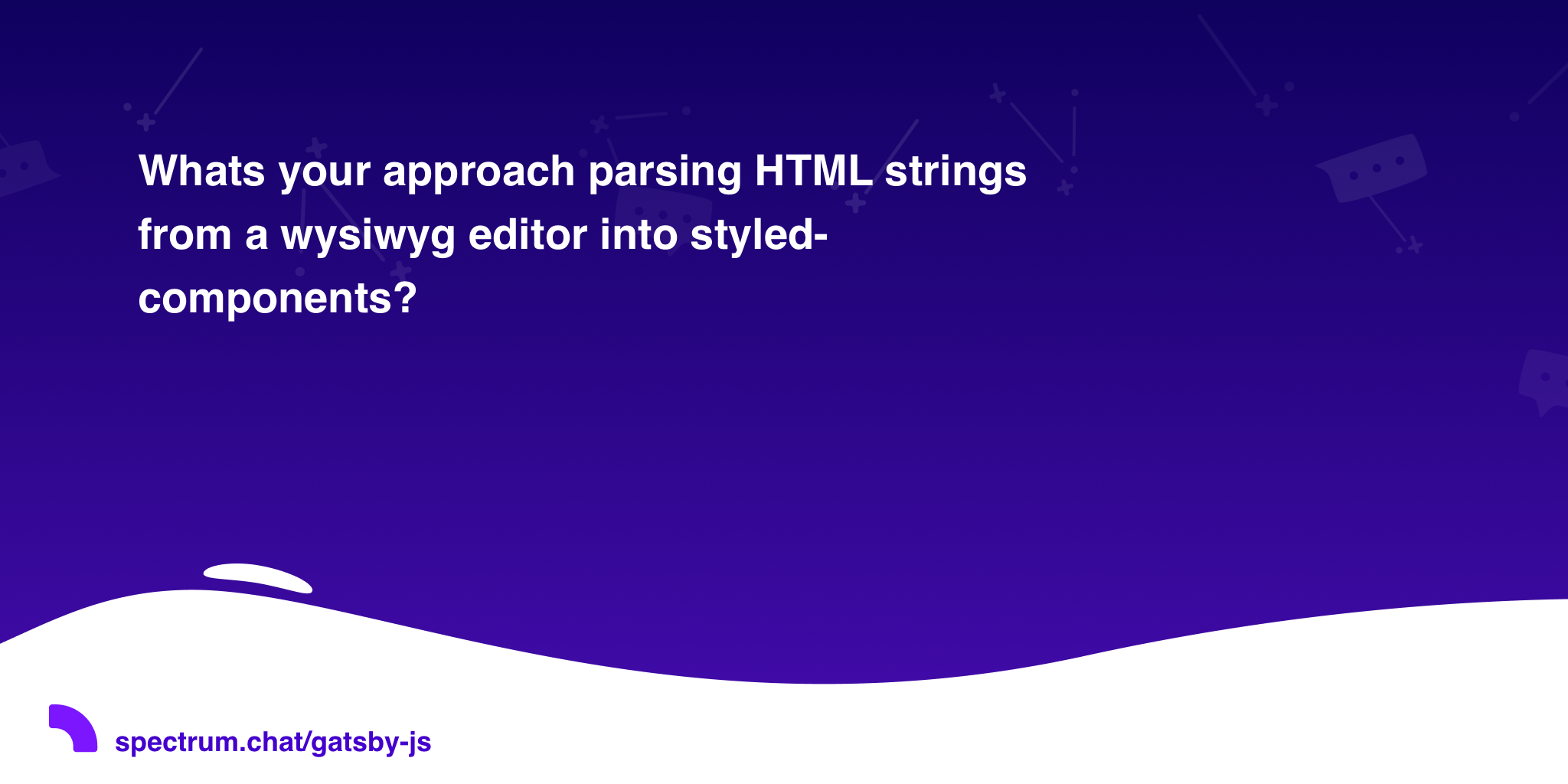 Whats your approach parsing HTML strings from a wysiwyg