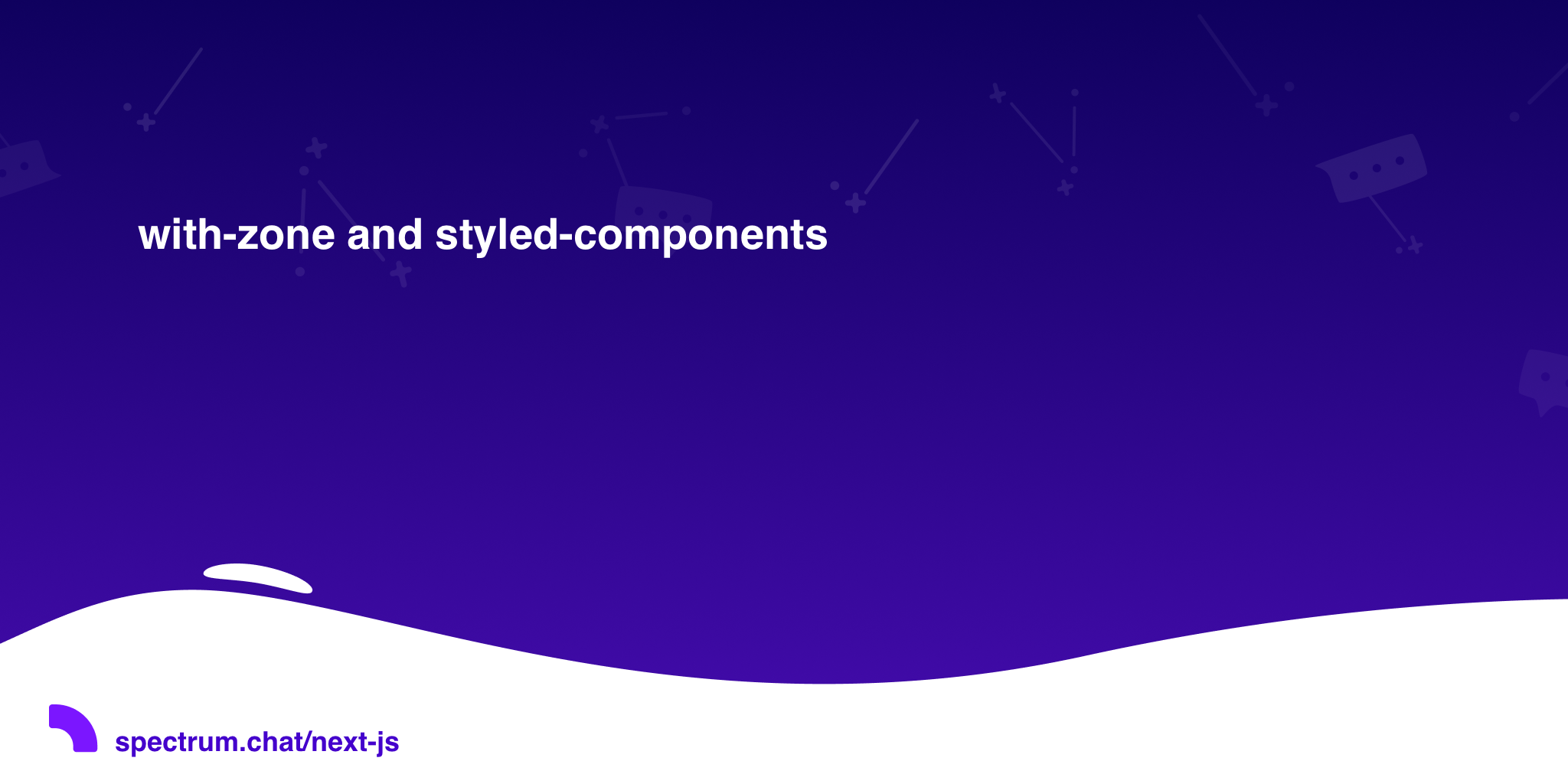 with-zone and styled-components · Next js