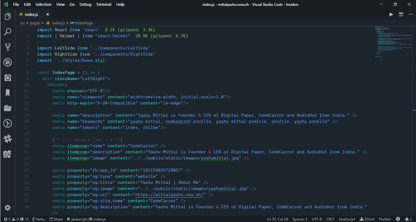 Which theme do you use in your text editor? · Frontend Cafe community